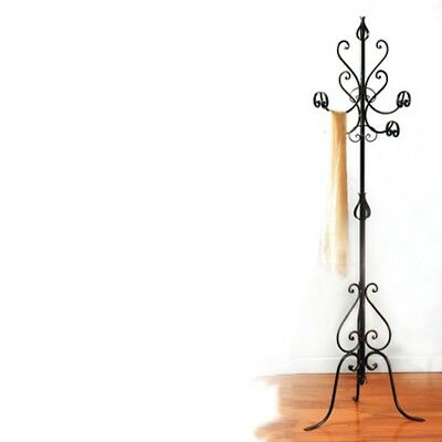 Coat hangers hanger wrought iron stand available in various colours