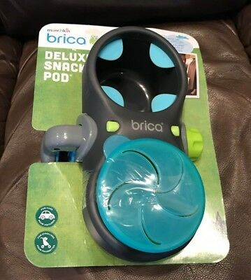 Munchkin Brica Deluxe Snack Pod / Fits Most Car Seats And Strollers / Brand New