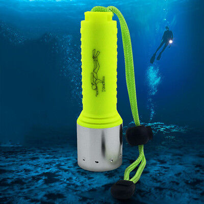 Outdoor Underwater XM-L T6 LED Scuba Diving Flashlight Torch Waterproof Newest