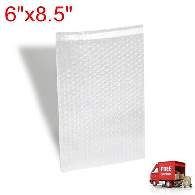 "6""x8.5"" Bubble Out Pouches / Bubble Protective Wrap Bags - Self Seal US SELLER"