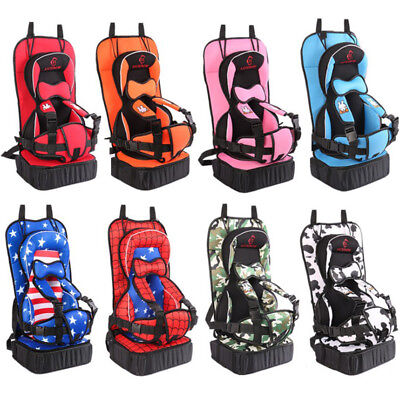 UK Safety Portable Baby Car Seat Toddler Infant Convertible Booster Child Chair
