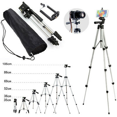 Camera Tripod Stand Mount Holder For Digital Camcorder iPhone Phone DSLR SLR+Bag