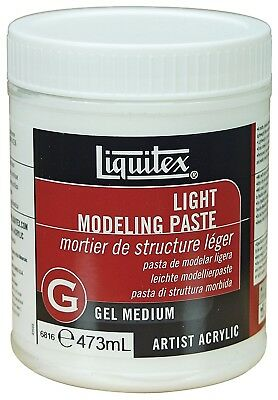 Liquitex Professional 6816 Light Modelling Paste, 473 ml. Reeves
