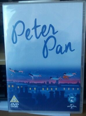 Peter Pan DVD (2015) Jeremy Sumpter ***NEW*** SEALED  DVD  B6