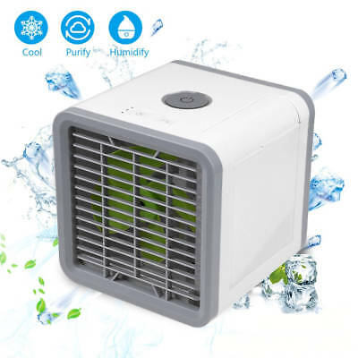 AU 2018 Portable Mini Air Conditioner Cool Cooling For Bedroom Artic Cooler Fan