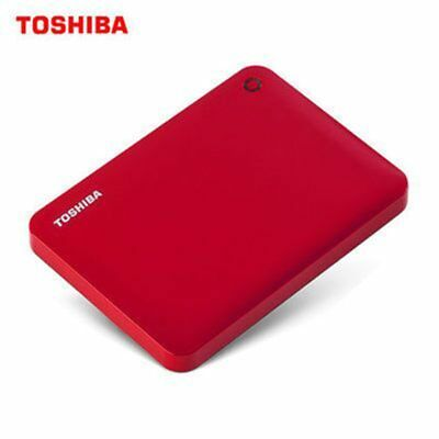 """Toshiba 2TB HDD Portable 2.5"""" External Hard Drive Disk USB 3.0 For PC Laptop"""