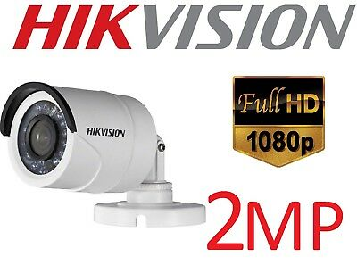 Hikvision DS-2CE16D0T-IRPF 2MP HD Analog 1080P IR Bullet CCTV Camera 3.6mm Lens