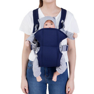 US! Newborn Baby Infant Sling Backpack Comfort Adjustable Buckle Carriers Wrap