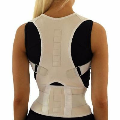 Posture Corrective Therapy Back Brace For Men & Women Flexposture Magnetic Belt