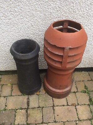 two old chimney pots in very good condition