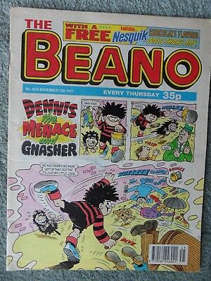 The Beano Comic no. 2678 13 november 1993