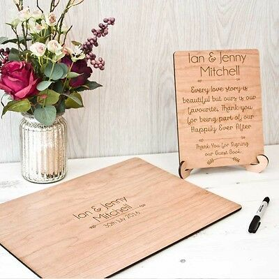 Personalised Wedding Guest Autograph Quest Wedding Party Book