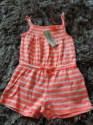 Girls BNWT playsuit Age 2 - 3 Years