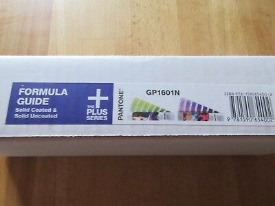 Pantone Formula Guide Farbfächer solidcoated / uncoated GP 1601N Plus