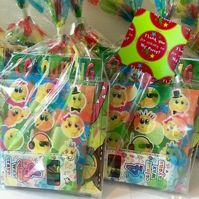 Kids Pre Filled Party Bags Childrens Boys Girls Unisex Birthday Goody Favours