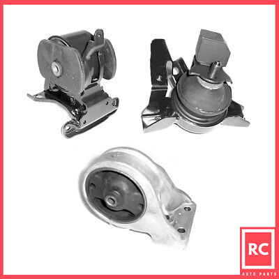 K0654 Motor/&Trans Mount 3PCS For Hyundai Santa Fe 01-04 2.4L AT//01-06 2.7L-2WD