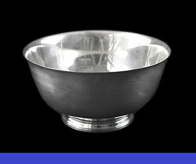 Tiffany & Co. #23618 Makers Sterling Silver Paul Revere Bowl 612 Grams (1273)