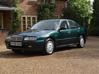 Rover 623 SLi  21,000 miles 1995 5 Speed Manual Air Conditioning S/Roof
