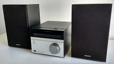 Sony Hcd-S20B Dab Mini Hi-Fi System / Cd Player / 3 Band Rds Radio / Dab+ Usb
