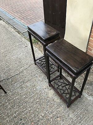antique furniture Pair Of Tables