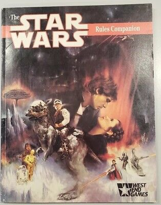 The Star Wars Rules Companion West End Games Greg Gordan 1989 soft cover RPG
