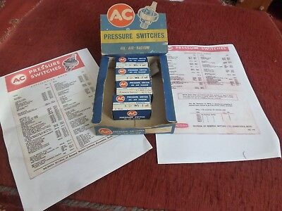 Vintage AC Oil Pressure Switch Counter Display Automobilia Very good order NR