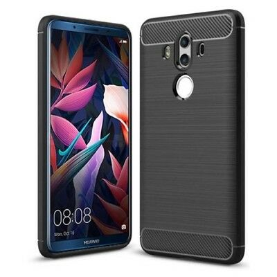 Huawei Mate 10 pro Funda para Móvil Carbono Protector Silicona Cubierta