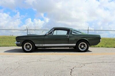 1966 Mustang GT350 1966 Ford Shelby GT350 GT350 73,822 Miles Ivy Green Fastback 289 V8 Manual 4 Spe