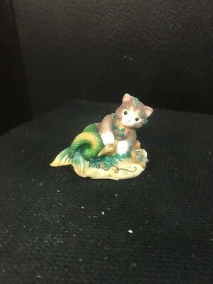 """Enesco Calico Kittens """"You Are Ambitious, Witty And Reliable"""" Capricorn  542482"""