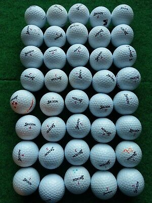 40 Srixon Distance golf balls Joblot