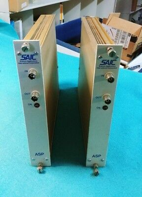 Lot of 2 SAIC ASP NIM BIN Modules