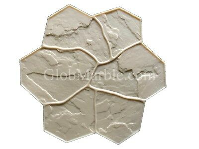 Concrete Stamp Flex Floppy Mat Form SM 1903/4 Decorative Concrete Random Stone