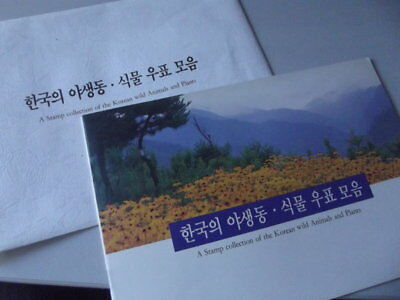 Korea: A Stamp collection of Korean Animals and Plants ** postfrisch, MNH [3773]