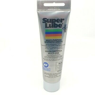 Super Lube 21030 Multi Purpose Synthetic Grease Lubricant Tube 85g(3.0oz)