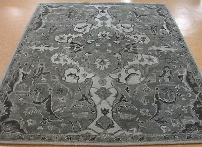 Persian Traditional runner 5X8 8X10 9X12 Modern Gray Floral wool area rugs LU01
