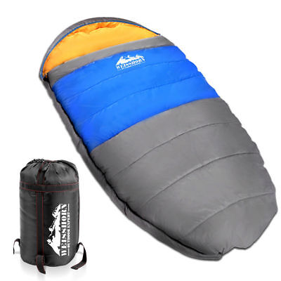 WEISSHORN Camping Sleeping Bag -15°C Extra Large Hiking Carry Bag 220X100CM