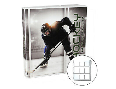 Hockey Trading Card Collection Album Kit, 10 Pages Included