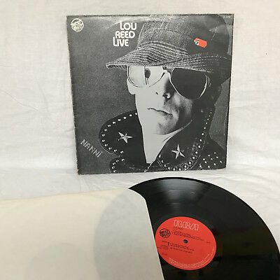 Lp – Lou Reed / Live / Yl 13752  Italy  /  Nm