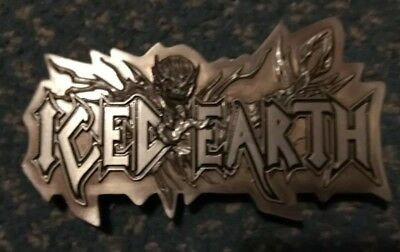 Iced Earth Belt Buckle (Official)