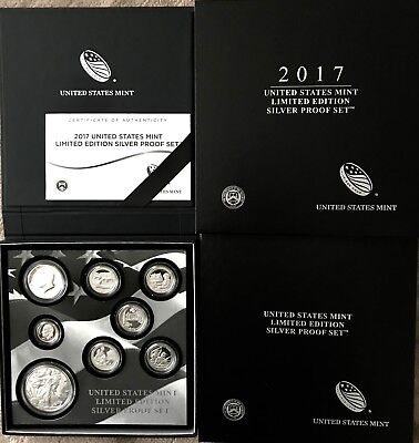 2017 US Mint Limited Edition Proof Set containing the Rare S Mint Silver Eagle
