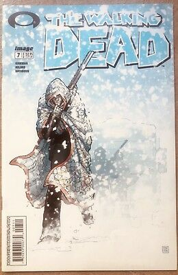 💥THE WALKING DEAD #7 IMAGE COMICS 2004 Key Issue TYREESE & RICK GRIMES 💥
