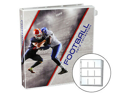 Ultimate Football Trading Card Collection Album Kit, 25 Pages Included