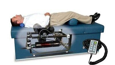 """Spinalator Type Roller Massage Table Hand Held Control Quantum 400 25"""" Table top"""