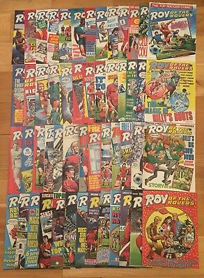 Roy of the Rovers 1987 Complete Year - 52 Comics Excellent Condition