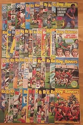 Roy of the Rovers 1988 Complete Year - 53 Comics Excellent Condition