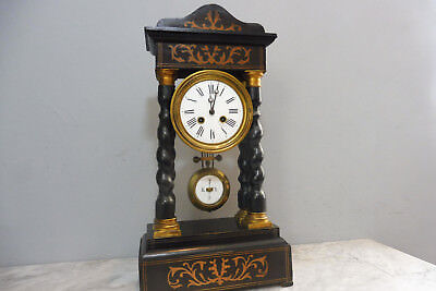 Antique French Empire Clock Mantel Clock Old Clock