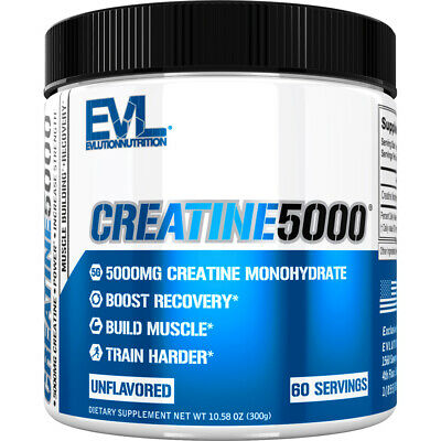 Evlution Nutrition Creatine5000 5 Grams of Pure Creatine in Each Serving
