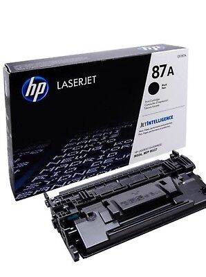 BRAND NEW GENUINE. HP 87A CF287A Toner Cartridge  New Sealed FREE SHIPPING