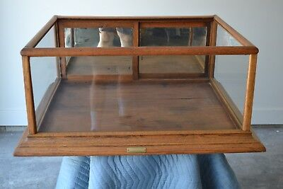Antique Counter Top Display Case by Excelsior