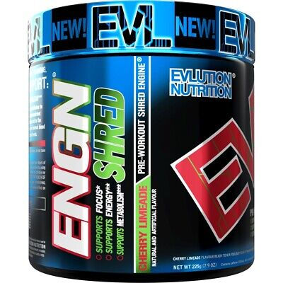 Evlution Nutrition ENGN SHRED Pre workout Thermogenic Fat Burner Powder
